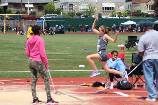 Girls 11-12 Long Jump - Alivia S.