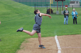 Ryan F. - 9/10 Softball Throw