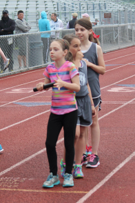 9/10 400 Meter Relay at the start