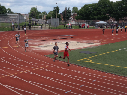 Brennen H., Keagan W. and Aidan R. - 800 Meter Run