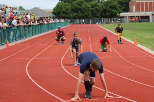Brennen H., 400m start
