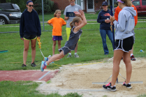 Isabel C., long jump